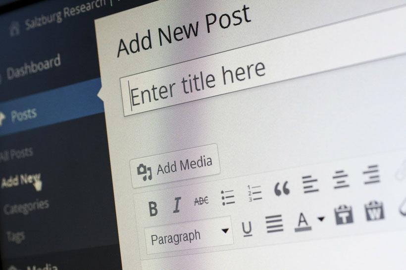 Blogartikel in 3 Schritten schreiben